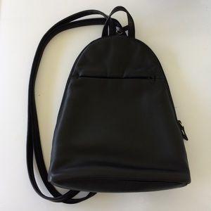 M&S London Marks & Spencer Leather Mini Backpack